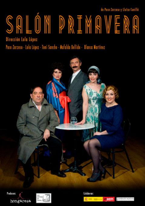 Cartel Salón Primavera Hongaresa de Teatre