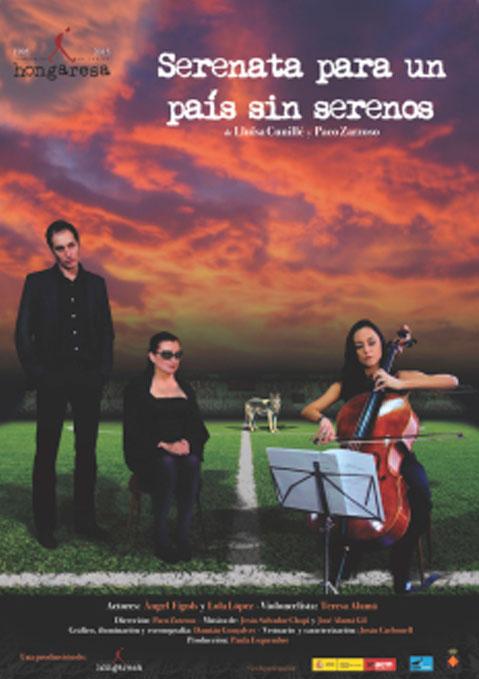 Cartel Serenata para un país sin serenos - Hongaresa de Teatre